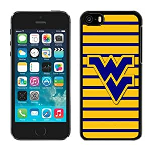 LJF phone case New ipod touch 5 Case Ncaa Big 12 Conference West Virginia Mountaineer 1