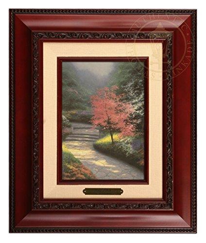(Thomas Kinkade Afternoon Light, Dogwood Brushwork (Brandy Frame))