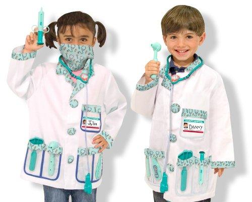Melissa & Doug Doctor Role Play Costume Set
