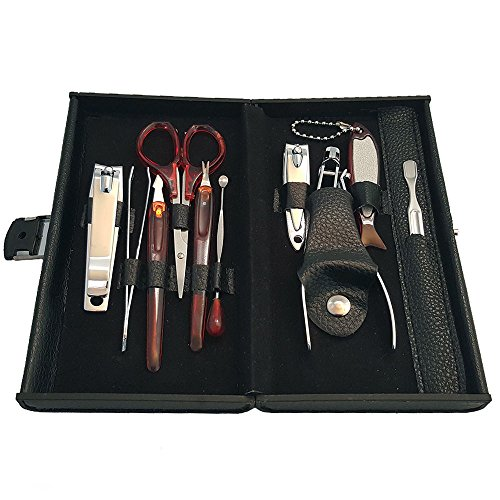 us-stock-2-pack-rc-collection-deluxe-10-piece-manicure-set-with-carrying-case