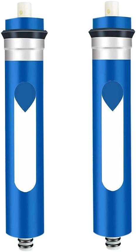 TOOGOO 75 GPD Membrana RO, Reemplazo de Membrana RO, Reemplazo de Filtro de óSmosis Inversa para Sistema de Purificador de Agua RO de Agua Potable Debajo del Fregadero: Amazon.es: Hogar