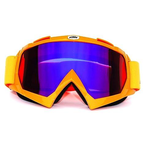 Helmet Motocross Motorcycle Goggles MX MTB Glasses Anti Dirt Unbreak Eyewear Hot