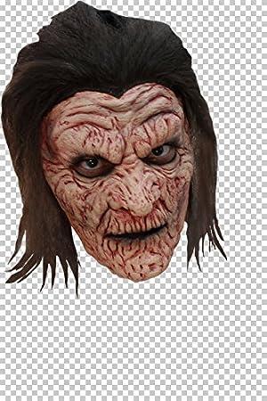 GHOULISH Máscara de Bruja Quemada: Amazon.es: Juguetes y juegos