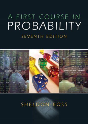 First Course in Probability, A (7th Edition)