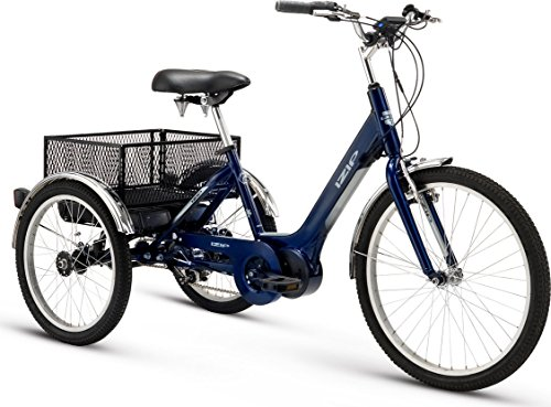 Izip E3 Go Electric Utility Tricycle With 350w Currie
