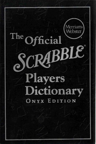 The Official Scrabble Players Dictionary, Onyx Edition (Scrabble Official)
