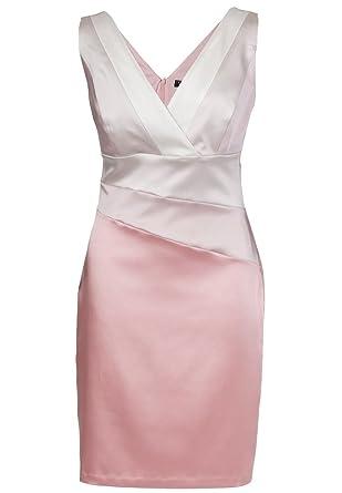 699aa53bf857 APART Fashion - Satinkleid, Farbe ROSENHOLZ-MULTICOLOR, Gr. 34 ...