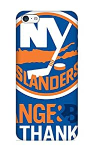 High Quality Georgemunoz Free New York Islanders Background Image Skin Case Cover Specially Designed For Iphone - 5c