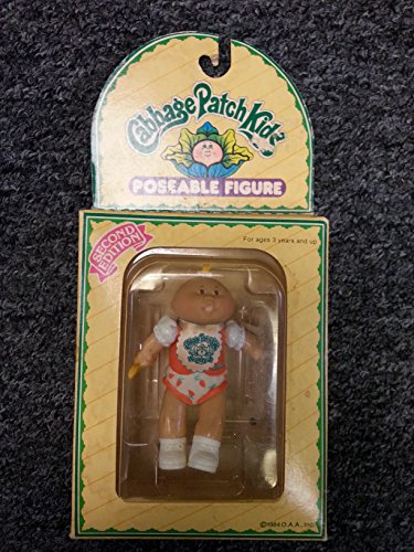 CABBAGE PATCH KIDS 1984 Poseable Figure DOLL Vintage 2ND EDITION