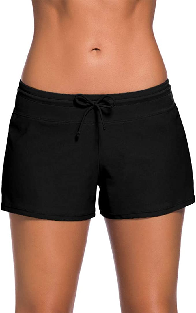 Raylans Mens Quick Dry Swim Trunks Beach Shorts with Pockets Plus Size