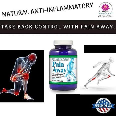 Amazon.com: Pain Away (120 caps) con Turmeric, MSM, Boswelia ...