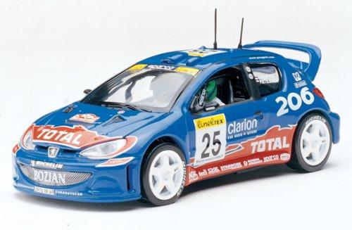 1/43 プジョー 206 WRC ラリー・モンテカルロ 2002 #25(ブルー) 43000