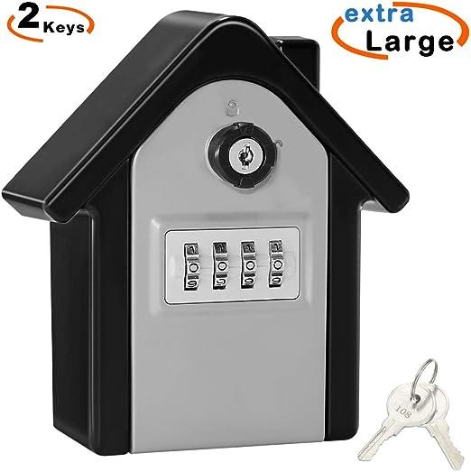 Caja Seguridad Llaves Grande Caja Llaves Combinacion Key Safe Box ...