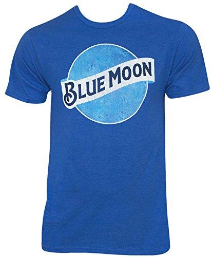 Blue Moon Mens Short Sleeve T shirt Royal Tee (XLarge)