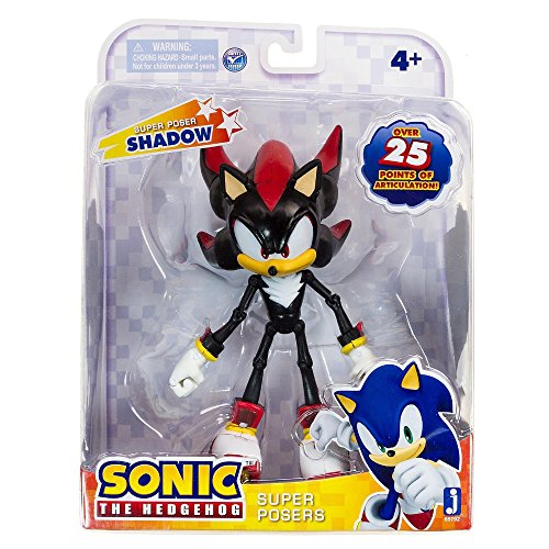 - Sonic 20th Anniversary Super Posers Shadow Over 25 Points of Articulation