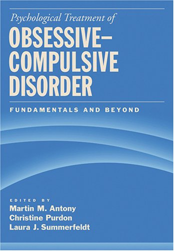 Download Psychological Treatment of Obsessive-Compulsive Disorder: Fundamentals And Beyond pdf
