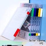 A4 Dokumentenbox A4 stabil schmal geschnitten 4 St/ück transparent