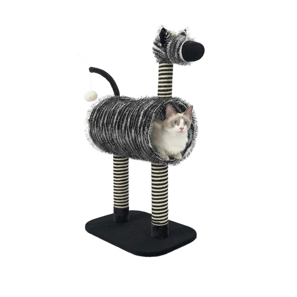 Cat Tree Condo Furniture Scratcher,Scratch Cat Activity Tree,Cat Tower Kitten Pet Play House,Tunnel Design