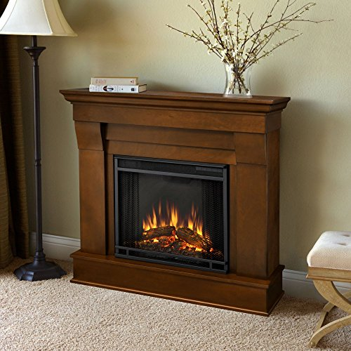 Cheap Real Flame Chateau Electric Fireplace in Espresso Black Friday & Cyber Monday 2019