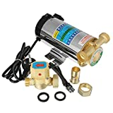 OlogyMart 100W Stainless Automatic Home Shower Washing Machine Water Booster Pump