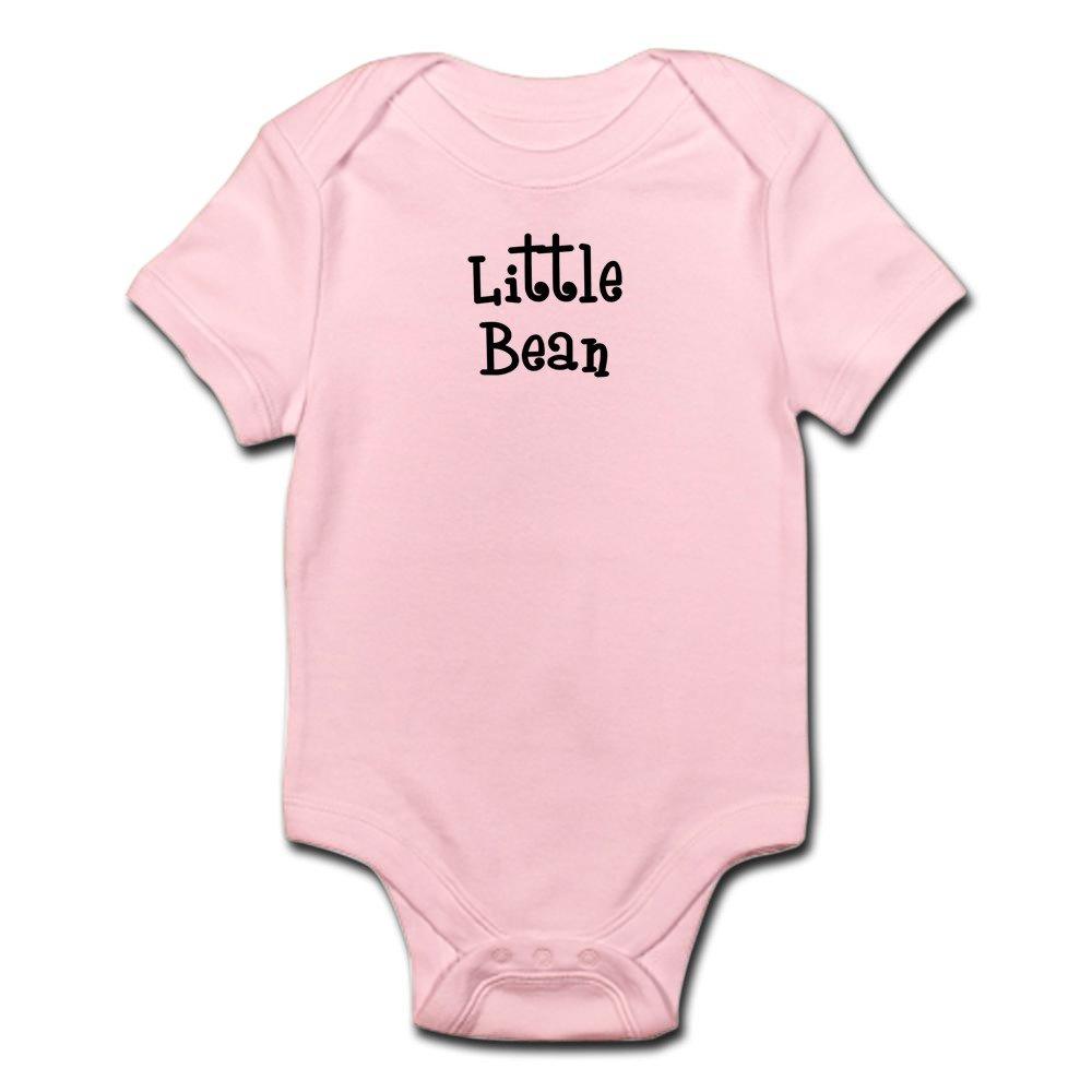 CafePress - Little Bean-Black - Cute Infant Bodysuit Baby Romper