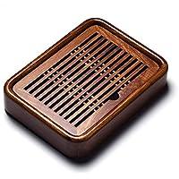 Tea Tray Trumpet Filled with Water Tray Mahogany Tea Table Wenge Wood Ebony Chinese Trays