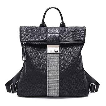 Alderman Women Genuine Leather Backpack Purse for Women Travel Large College Shoulder Bag