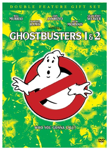 Ghostbusters 1 & 2 (Double Feature Gift Set) Bill Murray Dan Aykroyd Sigourney Weaver Brian Buck