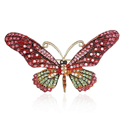 Elegant Metal Delicate Accessories Fashion Jewelry Women Gifts Brooch Pin | color - pink