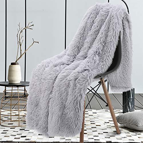 junovo Blanket Fluffy Blankets Luxury