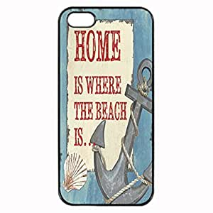 Beach Time Durable Unique Design Hard Back Case Cover For iPhone 4 4S