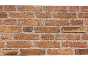 Revestimiento de paredes imitaci n de ladrillo piedra natural para cocina dormitorio - Revestimiento imitacion ladrillo ...