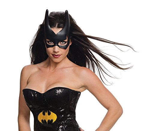 [Rubie's Costume Co Women's DC Superheroes Batgirl Mask, Black, One Size] (Girl Masks)