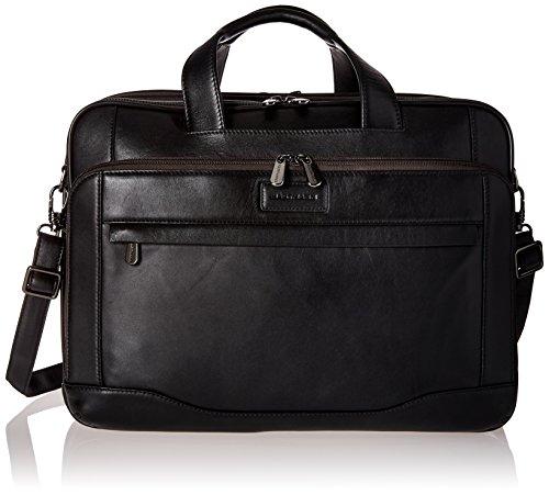 Hartmann Aviator Zipper Briefcase Expandable Dark Roast