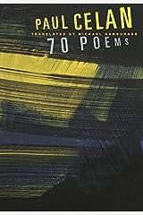 Paul Celan: 70 Poems (Karen & Michael Braziller Books) Paperback