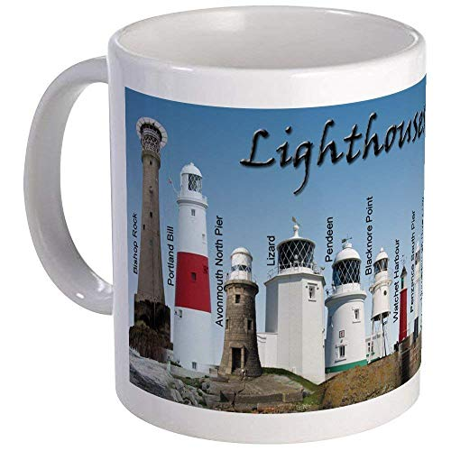 Lighthouses Of England Mug Mug - Ceramic 11oz