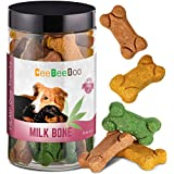Milk Bone Dog Treats with Hemp Oil for Pain Relief & Anxiety – Healthy & Tasty Hemp Treats for Dogs – Natural Pet Hemp Chews Dog Calming Treats for Small & Large Dogs