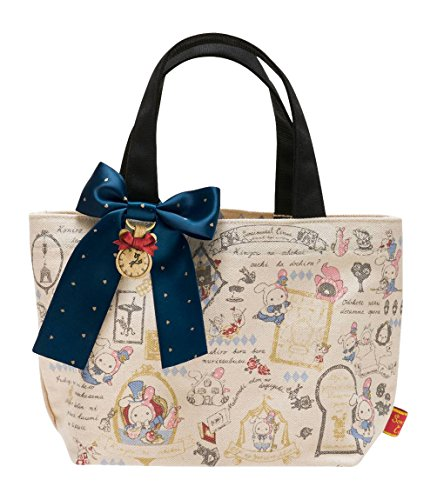 San-X Sentimental Circus Chou beckoning shadow of Alice Mini Tote Bag (CT96201)