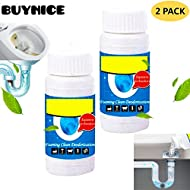 Pipe Dredge Deodorant,Powerful Sink and Drain Cleaner,Magic Bubble Bombs Fast Foaming Pipe Cleaner Deodorant Strong Cleaning Agent Tool for Kitchen Toilet Pipeline Quick Cleaning 2 pack