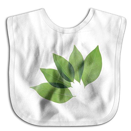 Green-leaf Bibs Saliva Towel Cartoon Baby Boy Girl Skin-friendly Towel - Card New Nectar