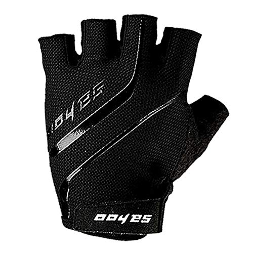 (Aihome Grip Gloves Half Finger Fitness Sports Riding Gloves Bicycle Shock Absorption Non-Slip Gloves)