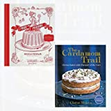 Pride and Pudding and The Cardamom Trail 2 Books Bundle Collection - The History of British Puddings, Savoury and Sweet, Chetna Bakes with Flavours of the East