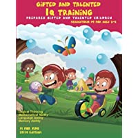 Gifted and Talented: IQ Training: Brainstorm: IQ Training test workbook for ages 3-6: Volume 4