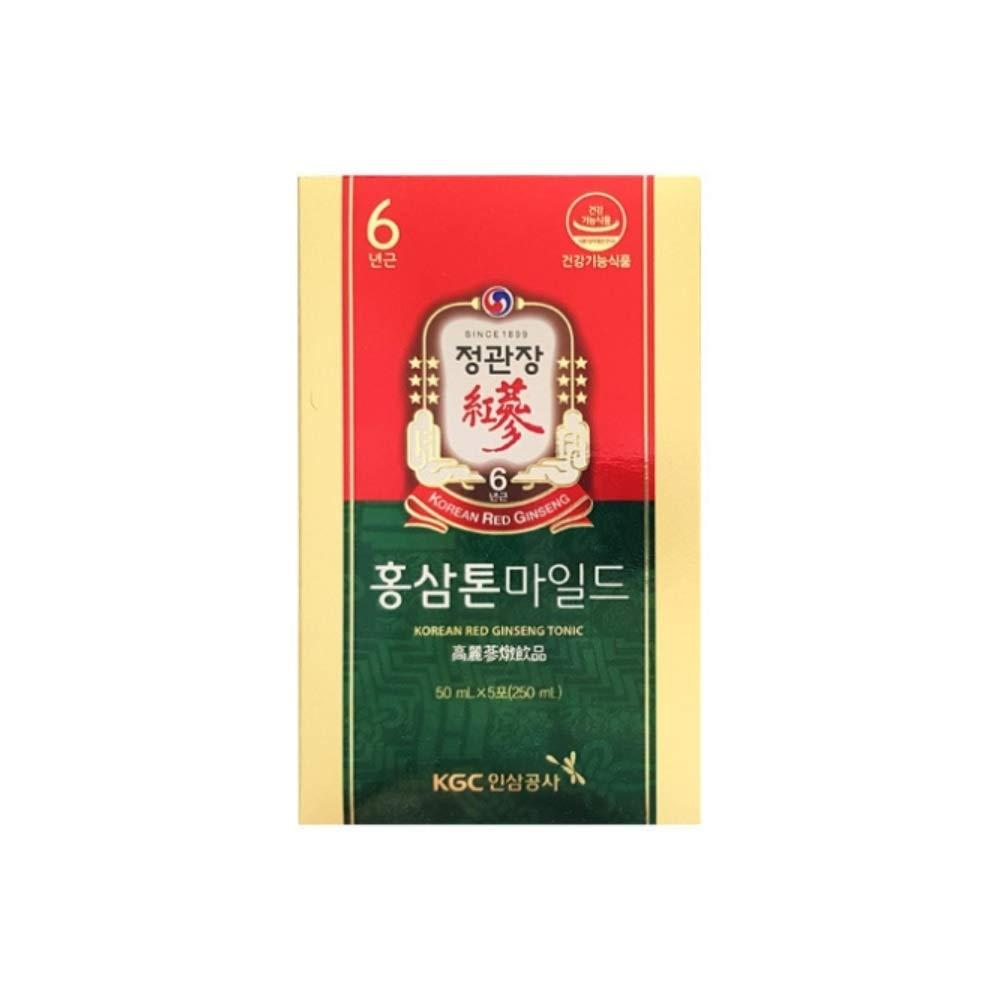 [Sale+Gift] KGC Cheong Kwan Jang Korean Red Ginseng Tonic Mild Origin 50mlx10 Pouches