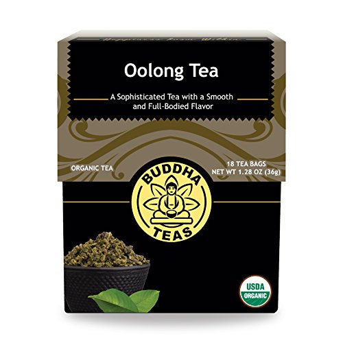 Organic Oolong Tea - Kosher, Contains Caffeine, GMO-Free - 18 Bleach-Free Tea Bags