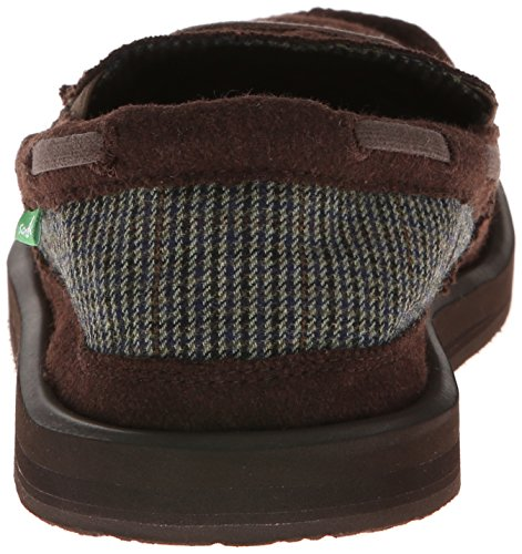 Sanuk Skipjack Hookie Slip on loafer - Mens Brown iVOiU