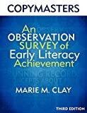 img - for Copymasters for the 3rd Edition of An Observation Survey of Early Literacy Achievement book / textbook / text book