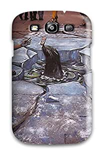 New Snap-on Valerie Lyn Miller Skin Case Cover Compatible With Galaxy S3- Sidewalk Art