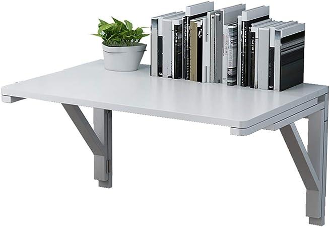 S-AIM Mesa de Trabajo Plegable montada en la Pared Mesa de Trabajo Plegable, adición Garaje y al cobertizo/Oficina en el hogar/Cuarto de Lavado/Bar en el hogar/Cocina y Comedor: Amazon.es: Hogar