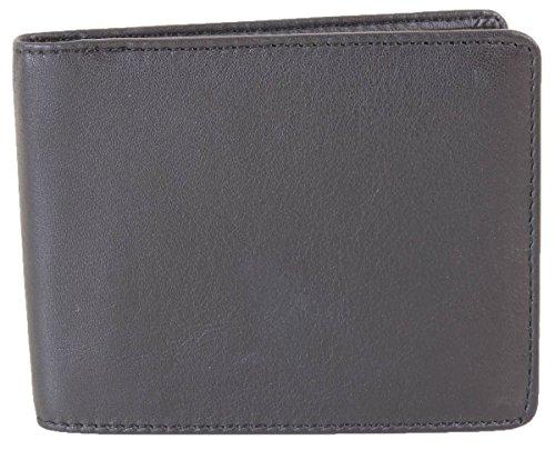 8 Wallet Van Mens Bifold David Black Van Hagen Hagen Card David Mens S10vqU